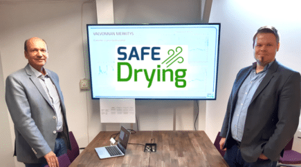 SafeDrying kuivattaa edullisesti ja pysyvästi